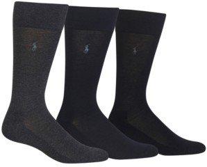 Polo Ralph Lauren 3 Pack Dress Men's Socks