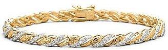 """JCPenney Diamond-Accent Bracelet 7.25"""""""