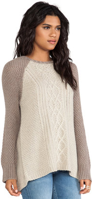 Heartloom Sand Pull Over Sweater