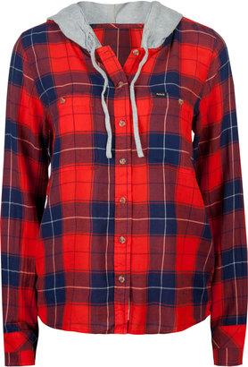 Hurley Wilson Womens Hooded Shirt
