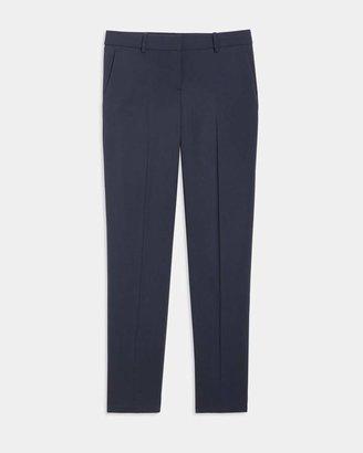 898d50cbdf9 Theory Stretch Wool Classic Crop Pant