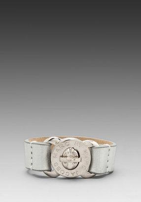 Marc by Marc Jacobs Leather Bracelets Large Turnlock Leather Bracelet