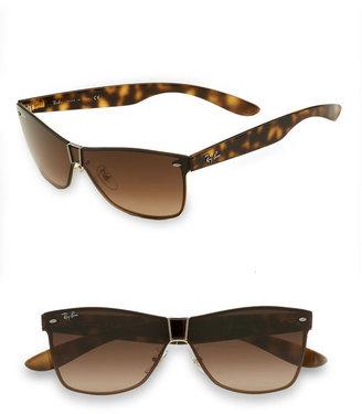 Ray-Ban 'Wayfarer' Metal Sunglasses