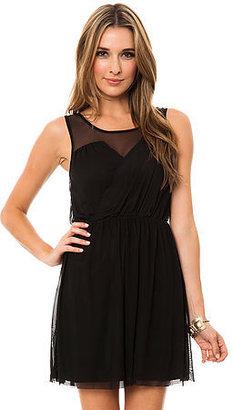 BB Dakota Jack The Oscar Mesh Dress in Black