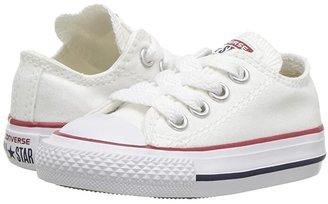 Converse Chuck Taylor(r) All Star(r) Core Ox (Infant/Toddler) (Optical White) Kids Shoes