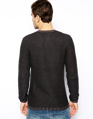 Esprit Textured Jumper