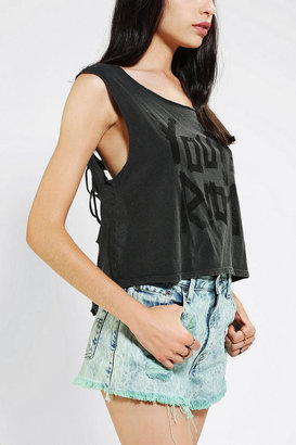 Truly Madly Deeply Youth Riot Shredded Muscle Tee