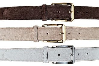 Jos. A. Bank Suede Buck Dress Belt- Sizes 44-46