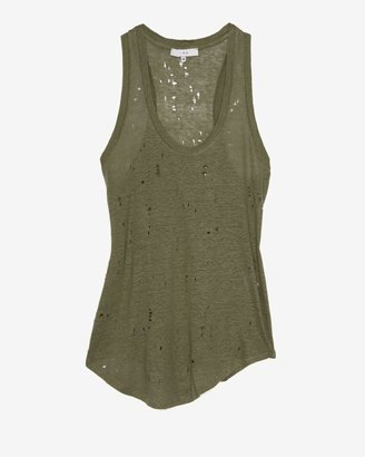 IRO Exclusive Racer Back Knit Tank With Holes