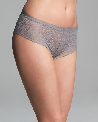 Calvin Klein Underwear Hipster - Naked Glamour All Lace #F3327
