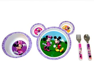 The First Years Disney Mickey Mouse & Friends Minnie Mouse 4-pc. Feeding Set