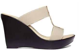 Callisto Pastel Platform Wedge Sandals
