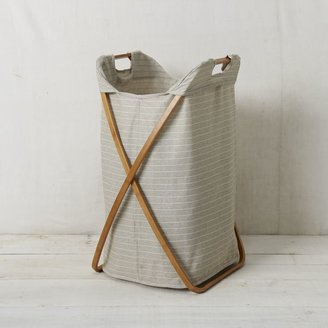 west elm Bamboo Laundry Single Hamper
