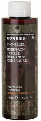 Korres Mountain Pepper Bergamot Coriander Shower Gel 250Ml