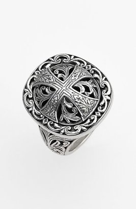 Women's Konstantino 'Classics' Cross Dome Ring $280 thestylecure.com