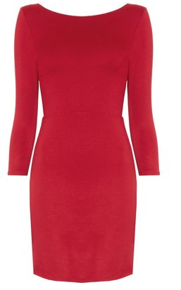 Alice + Olivia Caroy Closed Back Fitted Dress