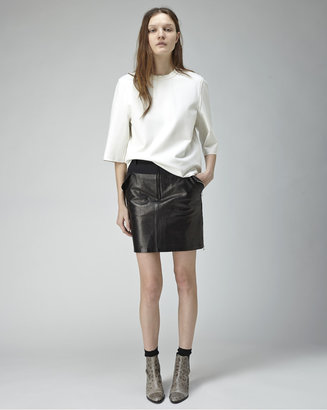 3.1 Phillip Lim cropped boxy t-shirt
