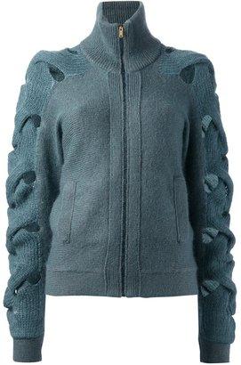 Maison Martin Margiela turtleneck cardigan sweater