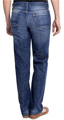 Boyfriend Relaxed Denim Jeans - Straight Leg, Button Fly (For Women)