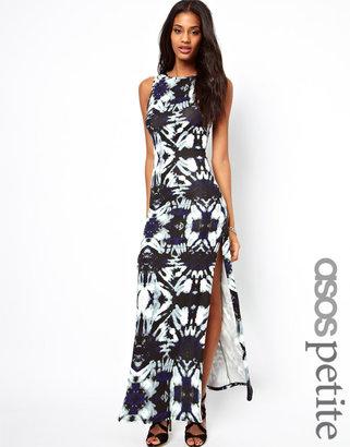 Asos Exclusive Maxi Dress In Print