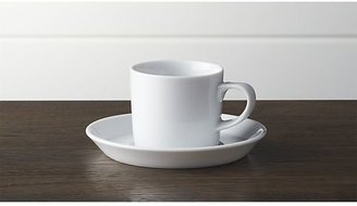 Crate & Barrel Verge Espresso Cup and Saucer
