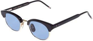 Thom Browne half rim sunglasses