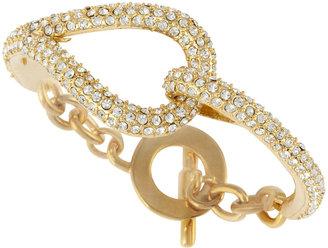 RJ Graziano Crystal Loop Toggle Bracelet