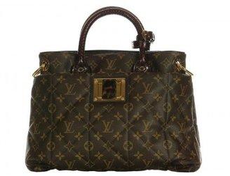 Louis Vuitton excellent (EX Bordeaux Monogram Exotique Tote MM Bag