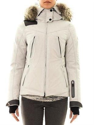 Moncler Reidberger fur-trimmed padded jacket