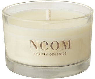 Neom Real Luxury Lavender, Jasmine & Brazilian Rosewood Scented Travel Candle, 75g