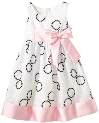 Bonnie Jean Girls 2-6X Embroidered Circle Dress