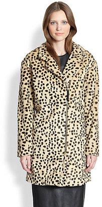 By Malene Birger Elaisa Leopard Print Dream Coat