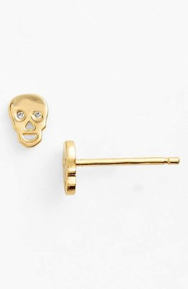 Sydney Evan Syd by Skull Earrings