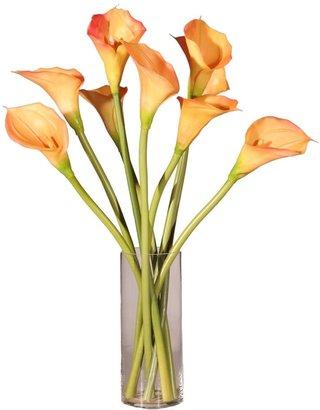 Vickerman Calla Lilies Silk Plant