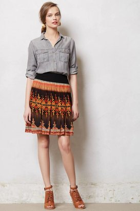 Anthropologie Indian Summer Skirt