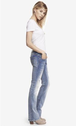 Rerock Super Thick Stitch Barely Boot Jean