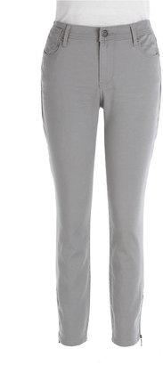 DKNY City Skinny Zip-Hem Jeans