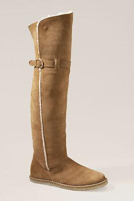 Lands' End Women's Eliza Tall Shearling Boot