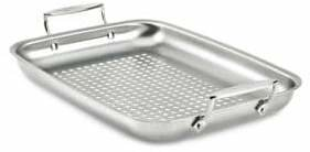 All-Clad Rectangular Outdoor Stainless Steel Roaster