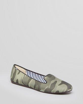 Charles Philip Smoking Flats - Sheila Camouflage