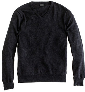 Tall cotton-cashmere V-neck sweater $69.50 thestylecure.com