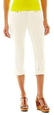 JCPenney a.n.a Thickstitch Cropped Jeans