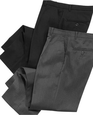 Izod Boys' Husky Fit Single Pleat Dress Pants