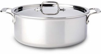 All-Clad Stainless Steel 6-Quart Stock Pot with Lid