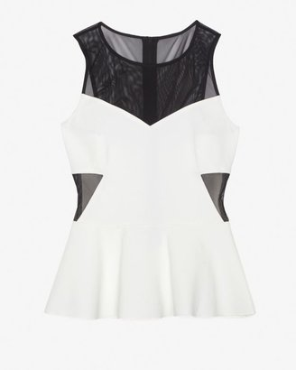 Intermix Exclusive For Mesh Detail Top