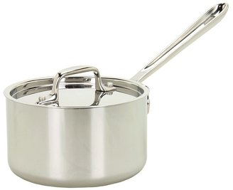 All-Clad Promotional 1.5 Qt. Sauce Pan With Lid (Stainless Steel) - Home