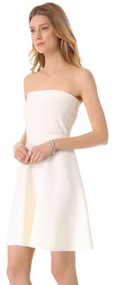 Rebecca Taylor Strapless Knit Dress