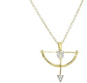 India Hicks Bow and Arrow Necklace