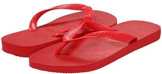 Havaianas Top Flip Flops (White) Women's Sandals