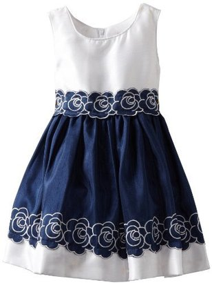 Sweet Heart Rose Girls 2-6X Nautical Special Occasion Dress